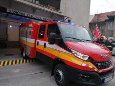 Slávnostné  odovzdávanie hasičskej zbrojnice